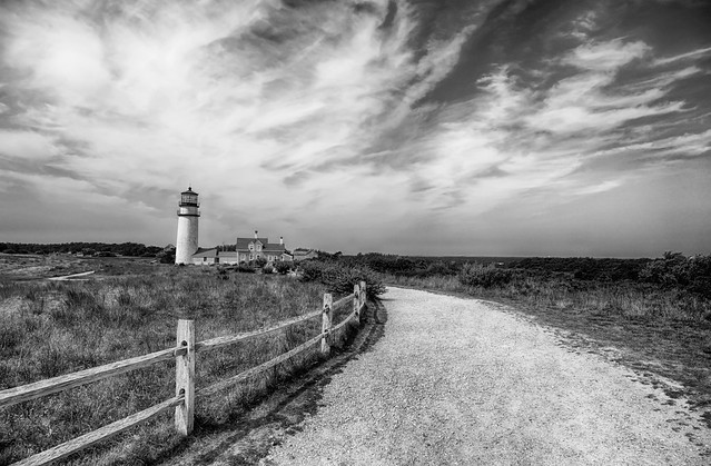 To The Lighthouse (Now in B&W!)