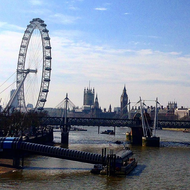 On Waterloo Bridge, you kind of have to pause and give yourself a #London moment.