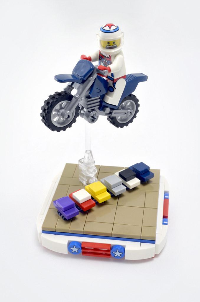 Slight Miscalculation (custom built Lego model)