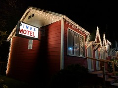 Where I stayed in wrightwood ca.