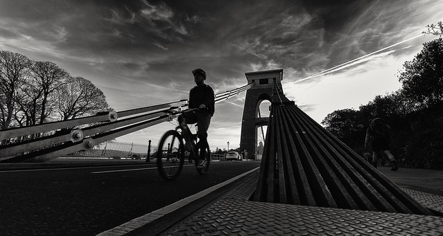 On your bike., Nikon D300, Sigma 10-20mm F4-5.6 EX DC HSM