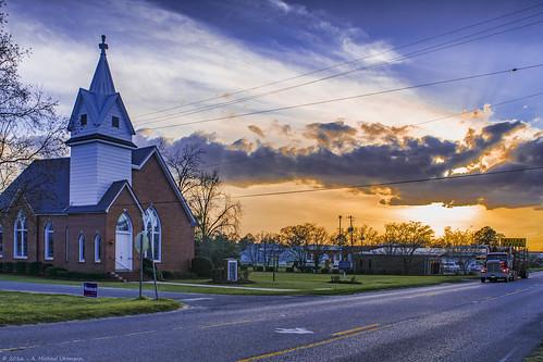 Methodist Church - Columbia, Alabama