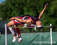 Districts 27/28-6A Area Meet Jamal Anderson on the High Jump 6'6 #nikonsports #sportsphotography #ok3sports