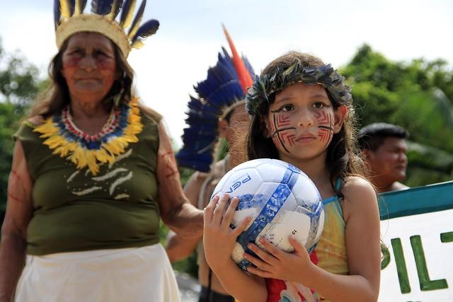 17.04.30.VII Jogos indígenas-Comunidade do Livramento