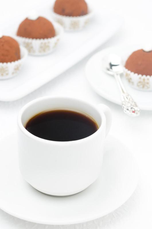 coffee and mini cakes