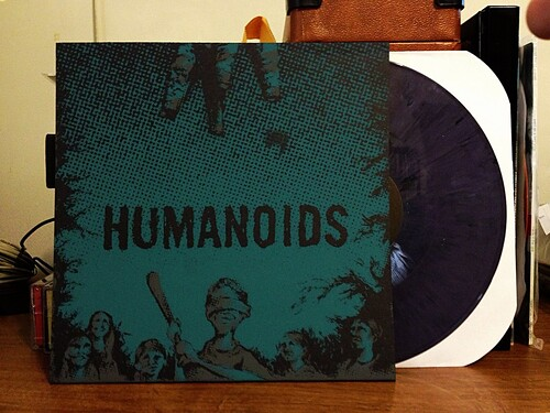 The Humanoids - S/T LP - Purple Vinyl by Tim PopKid