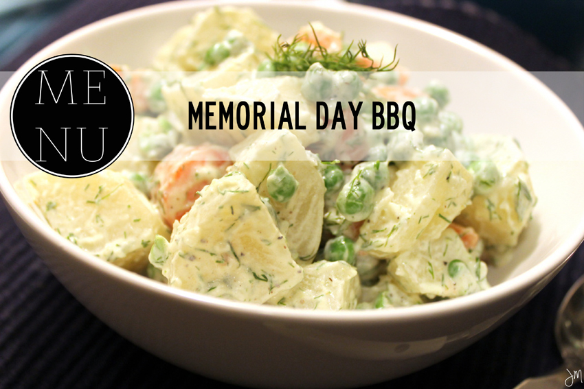 Julip Made Memorial Day BBQ Menu