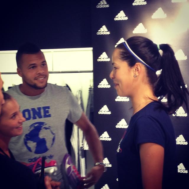 Ana Ivanovic and Jo-Wilfried Tsonga