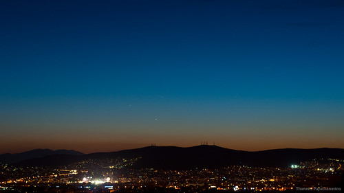 Planetary Conjunction at dusk #2