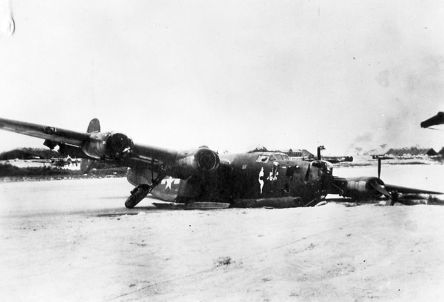 Consolidated B-24J 868th BS Biak 1944