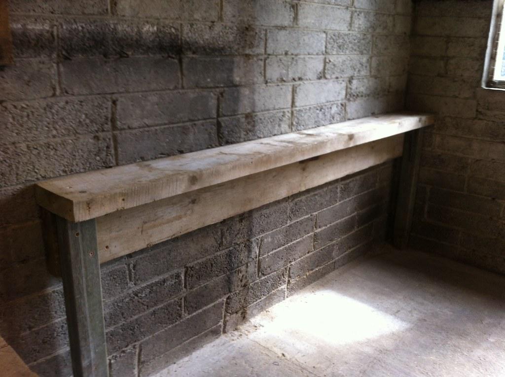 Bench step 1