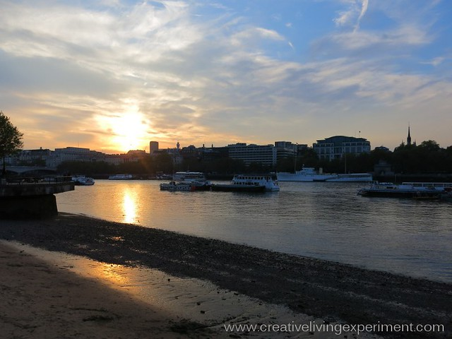 Thames Sunset, London