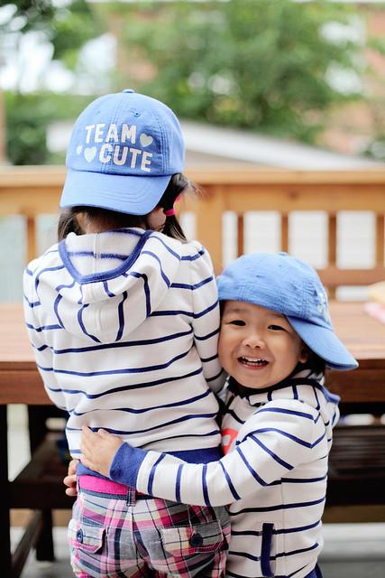 team cute!