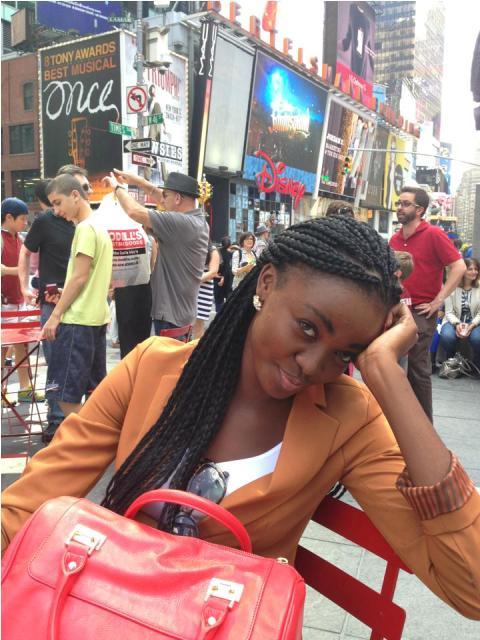 Miss Ghana 2012 Naa in America (1)