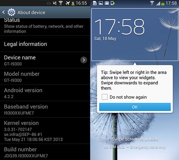 androir 4.2.2 para el galaxy s3