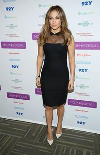 Jennifer Lopez Sheer Dress Celebrity Style Women's Fashion