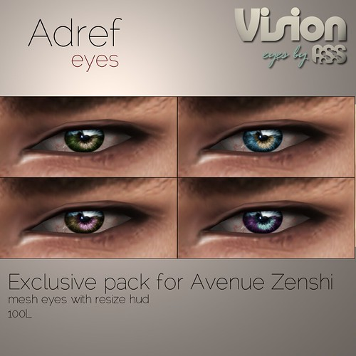 Vision by A:S:S - Adref eyes, Zenshi exclusive by Pho Vinternatt