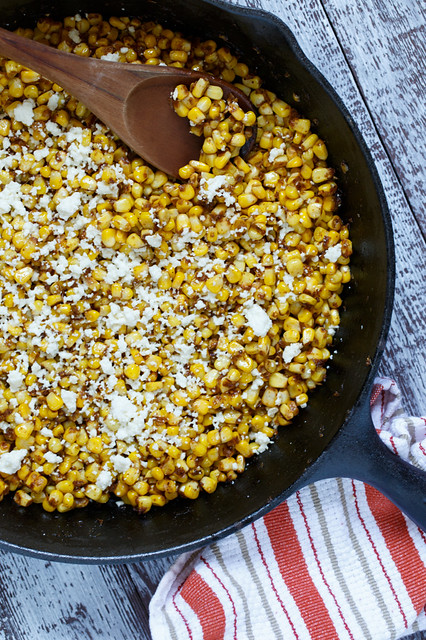 spicy sautéed corn