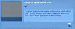Paradise Wave Break Wall 4
