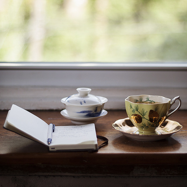 tea notes.