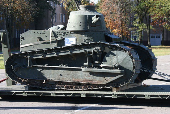 French-made FT-17 tank used by Poland in its 1920 war against the Red Army