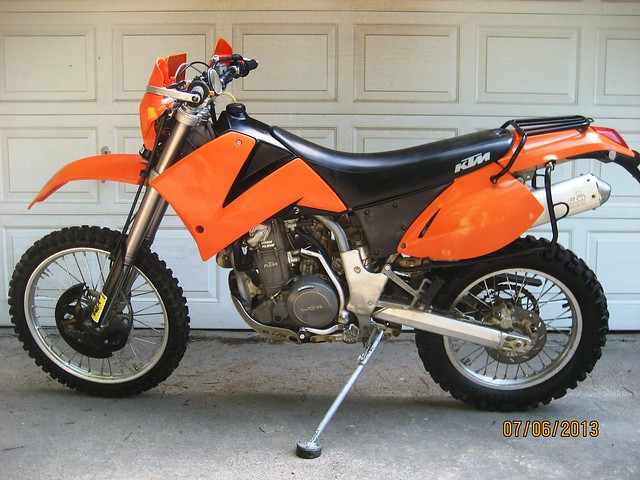 sold -- 2004 ktm 625 sxc ready to dual sport - twt forums