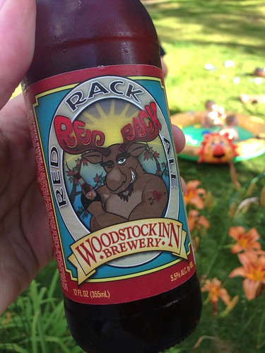 Woodstock Inn Brewery Red Rack Ale