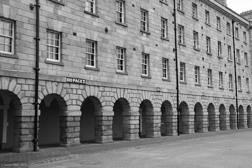 Pace Markers of Collins Barracks