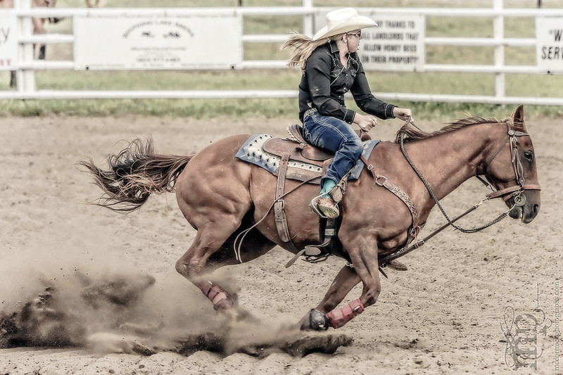 Gooseberry Lake : 4-H Rodeo 2013 : Des : Full Speed Ahead