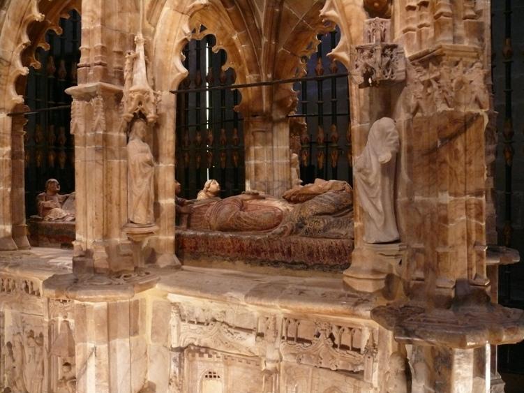 El mausoleo del Santo. Autor, Calafellvalo