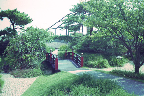Japanese Garden Bridge by bahayla
