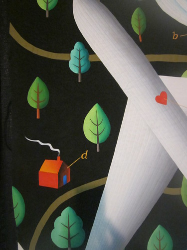 """Fear of Flying"" by Judy Coates Perez, close up"