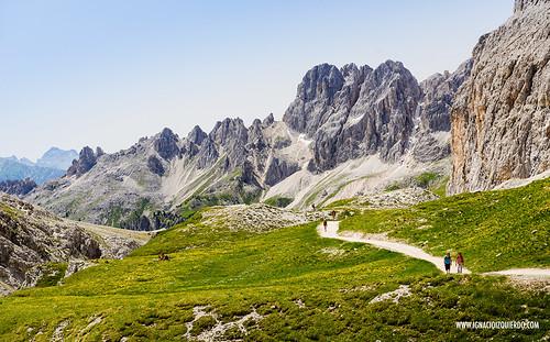 Dolomites - Val di Fassa - Vinicio Capossela at Vajolet 21