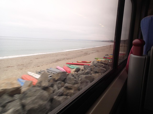 Amtrak California Pacific Surfliner train - San Diego to Los Angeles