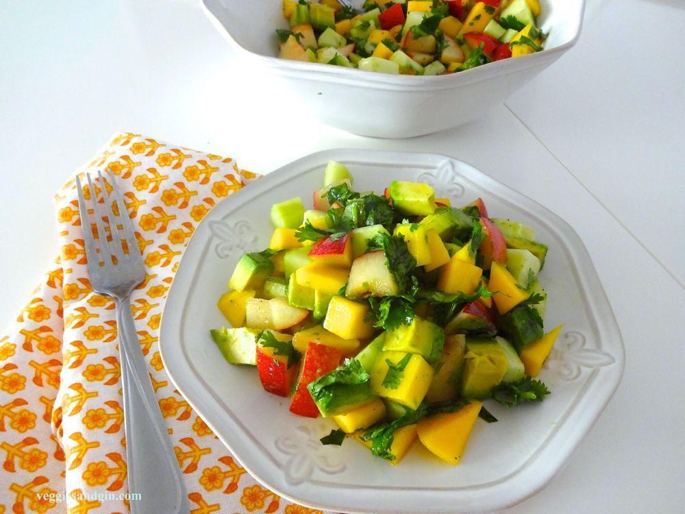 Mango Cucumber Avo Salad06
