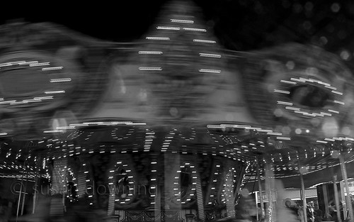 Whirl of the Carousel BW