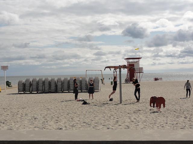 Pärnu plage