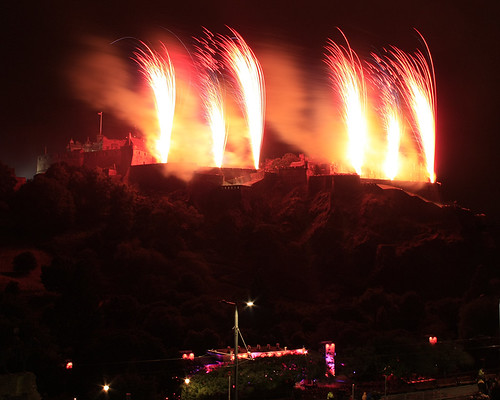 Edinburgh International Festival fireworks concert 1 September 2013