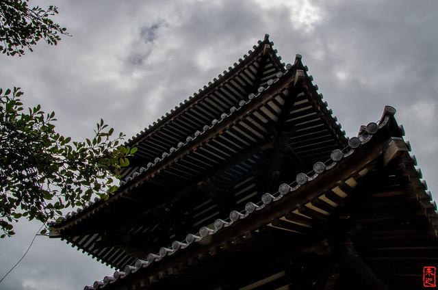「連なり」 法起寺 - 奈良