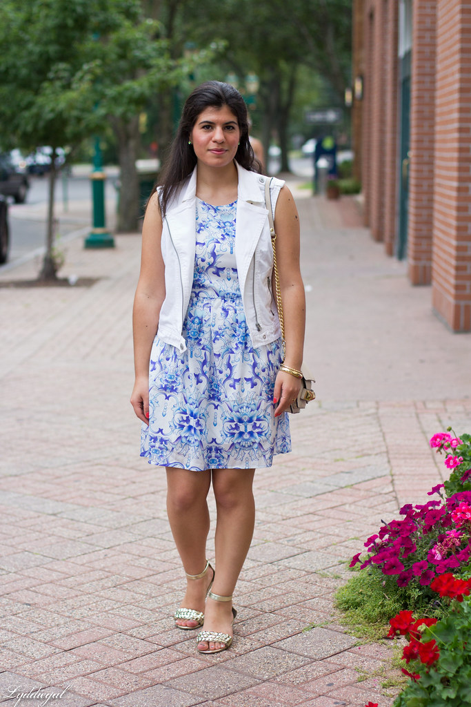 white vest - printed dress.jpg