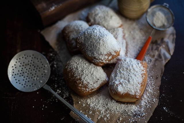 Buttermilk Beignets with Chicory Crème Pâtissière