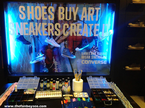 Punk Your Chucks Converse Event