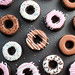 Dark Chocolate Doughnut Sugar Cookies by Bakerella