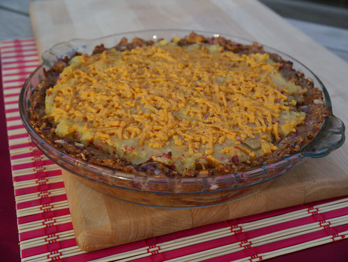 V is for Vegan Bacon Cheeseburger Potato Pie [Betty Goes Vegan] (0006)