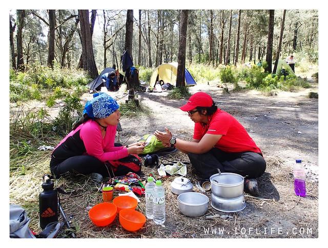 Piknik di kalimati