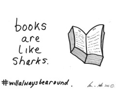 Books and Sharks