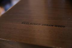 Reclaimed Urban Wood