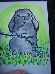 little gray lop eared bun by Emilyannamarie