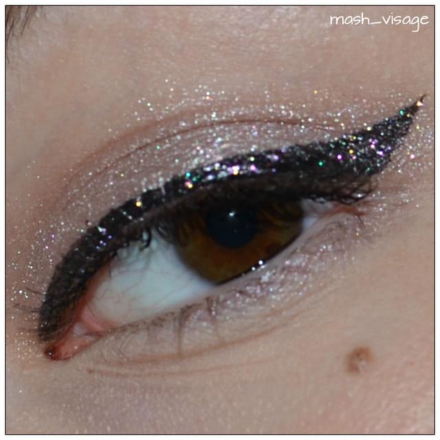 Make Up For Ever Aqua Liner 14 Diamond Multicolor Black
