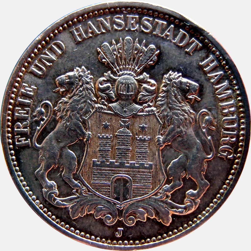 3 MARCOS 1913 HAMBURGO 10440092266_71fb8797d6_b